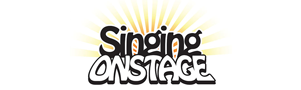 Singing Onstage Sticky Logo