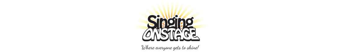 Singing Onstage Logo